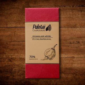 Palotai mézes étcsokoládé - chilis