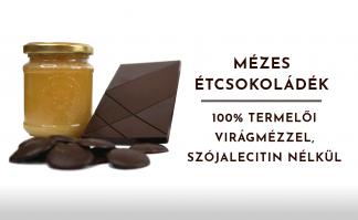Mézzel készült étcsokoládék