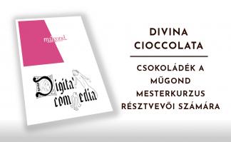 Divina Cioccolata - Csokoládék a MűGond mesterkurzus résztvevői számára.